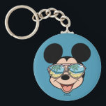 "Mickey | Mickey Tropical Sunglasses Keychain<br><div class=""desc"">Disney Fast Fashion - Mickey smiling as he enjoys the warm tropical sun and cool breezes!</div>"