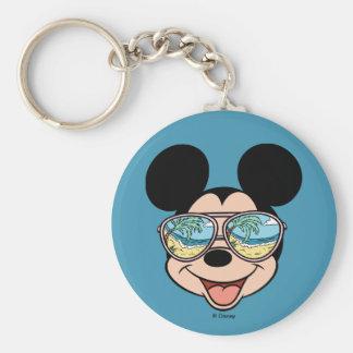 Mickey | Mickey Tropical Sunglasses Keychain