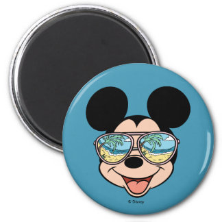 Mickey | Mickey Tropical Sunglasses Magnet