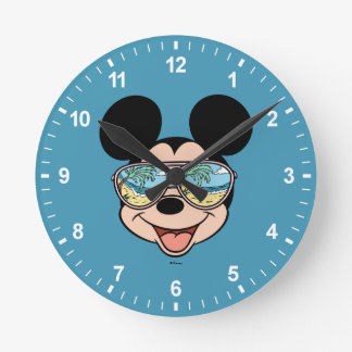 Mickey   Mickey Tropical Sunglasses Round Clock