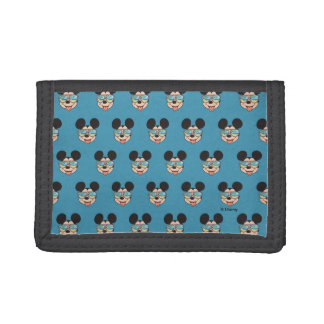 Mickey | Mickey Tropical Sunglasses Trifold Wallet