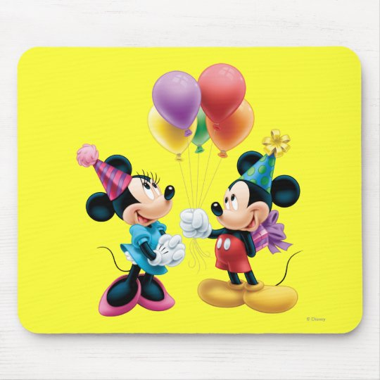 Mickey & Minnie | Birthday Mouse Pad