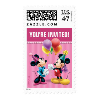 Mickey & Minnie | Birthday Postage