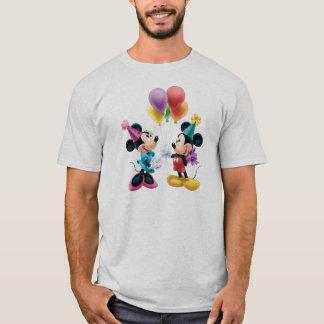 Mickey & Minnie   Birthday T-Shirt