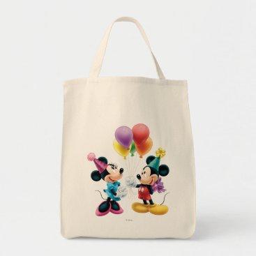 birthday Mickey & Minnie | Birthday Tote Bag