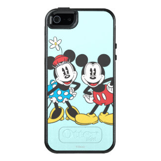 Mickey & Minnie | Classic Pair OtterBox iPhone 5/5s/SE Case