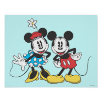 Mickey & Minnie | Classic Pair Poster