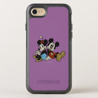 Mickey & Minnie | Classic Pair Sitting OtterBox Symmetry iPhone 8/7 Case
