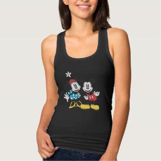 Mickey & Minnie   Classic Pair Tank Top