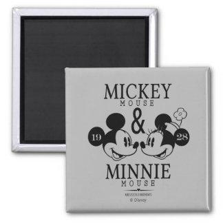 Mickey & Minnie   Est. 1928 Magnet