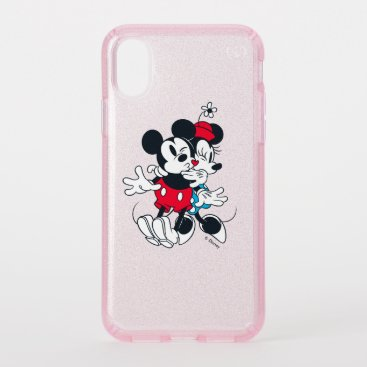 Mickey & Minnie   Forever Love Speck iPhone XS Case