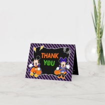 Mickey & Minnie |  Halloween Party - Thank You