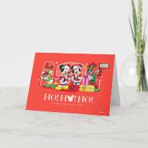 Mickey & Minnie | Ho Ho Ho Holiday Card