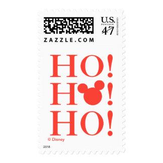 Mickey & Minnie | Ho Ho Ho Stamp
