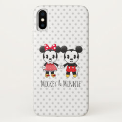 Case-Mate Barely There iPhone X Case with Frozen's Olaf the Snowman & Sven the Reindeer design