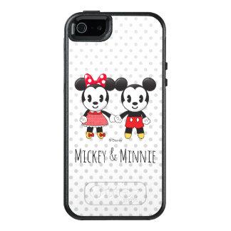 Mickey & Minnie Holding Hands Emoji OtterBox iPhone 5/5s/SE Case