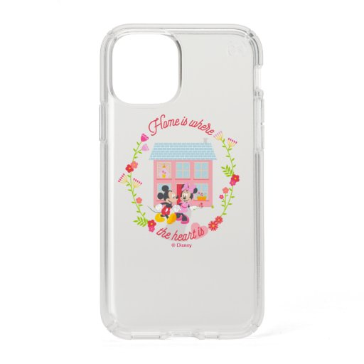 Mickey & Minnie | Home Is Where The Heart Is Speck iPhone 11 Pro Case