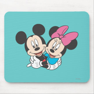 Mickey & Minnie | Hugging Mouse Pad