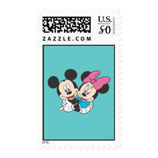 Mickey & Minnie | Hugging Postage