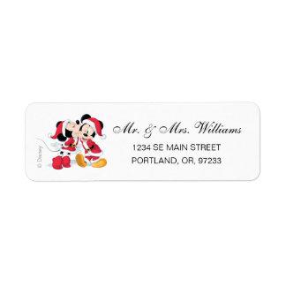Mickey & Minnie | Jingle Bell Fun Label