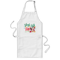 Mickey & Minnie | Jingle Bell Fun Long Apron