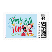 Mickey & Minnie | Jingle Bell Fun Postage
