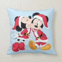 Mickey & Minnie | Jingle Bell Fun Throw Pillow