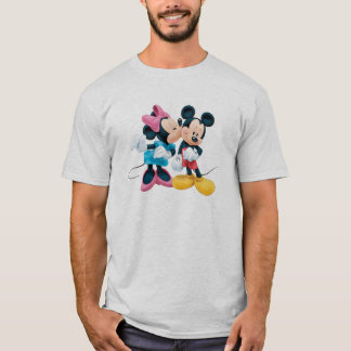 Mickey & Minnie | Kiss on Cheek T-Shirt