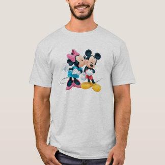 Mickey & Minnie | Kiss on Cheek T-Shirt