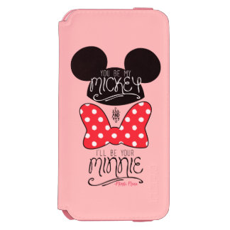 Mickey & Minnie | Love iPhone 6/6s Wallet Case