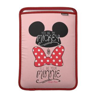 Mickey & Minnie | Love MacBook Sleeve