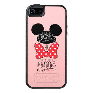 Mickey & Minnie | Love OtterBox iPhone 5/5s/SE Case