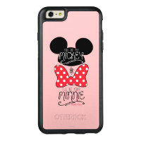 Mickey & Minnie | Love OtterBox iPhone 6/6s Plus Case