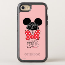 Mickey & Minnie | Love OtterBox Symmetry iPhone 8/7 Case
