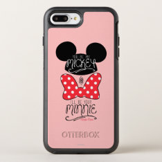 Mickey & Minnie | Love Otterbox Symmetry Iphone 8 Plus/7 Plus Case at Zazzle