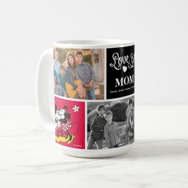 Disney Themed Mickey & Minnie | Love Ya with Photo Coffee Mug