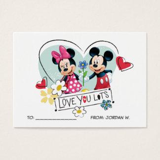 Mickey & Minnie | Love you Lots 100pk Card