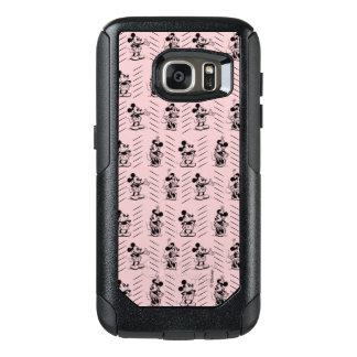 Mickey & Minnie | Sketch Pattern OtterBox Samsung Galaxy S7 Case