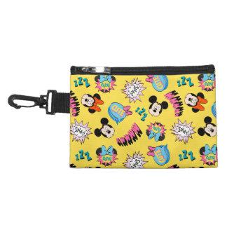 Mickey & Minnie | Super Hero Pop Pattern Accessory Bag