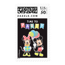 Mickey & Minnie | Time to Party Postage