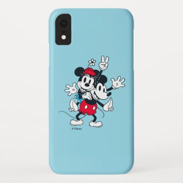Mickey & Minnie | Two of a Kind iPhone XR Case