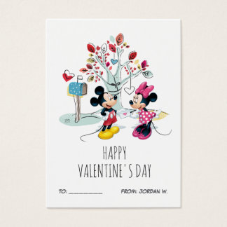 Mickey & Minnie | Valentine's Day 100pk Card