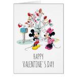Mickey & Minnie | Valentine's Day Card