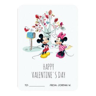 Mickey & Minnie | Valentine's Day Card