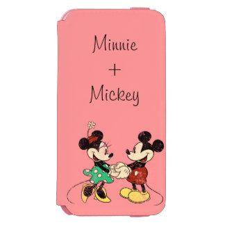 Mickey & Minnie | Vintage iPhone 6/6s Wallet Case