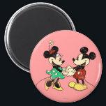 "Mickey &amp; Minnie | Vintage Magnet<br><div class=""desc"">Mickey and Minnie</div>"