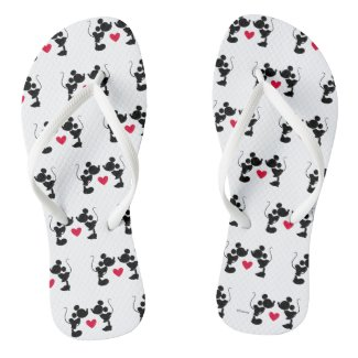 Mickey & Minnie Wedding Flip Flops