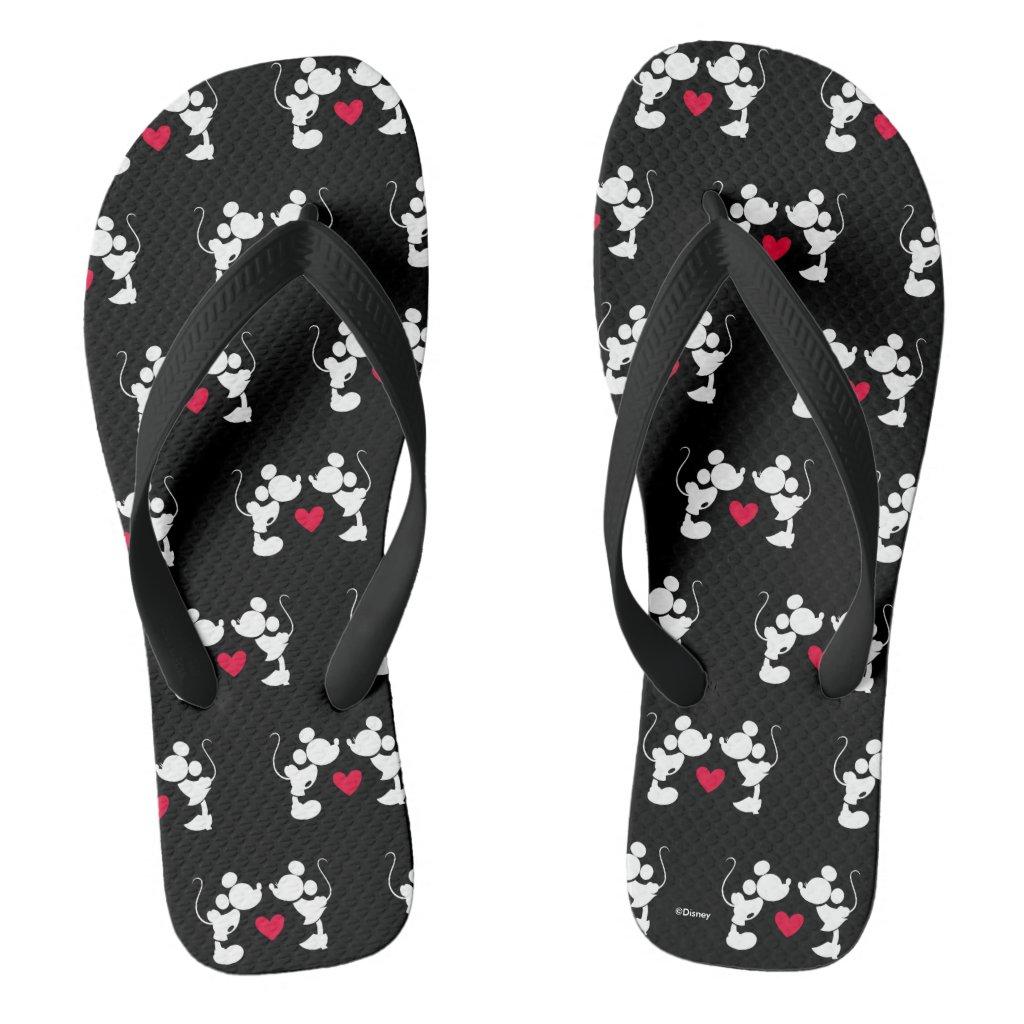 Mickey & Minnie Wedding Flip Flops
