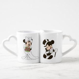 Mickey & Minnie Wedding | Getting Married Coffee Mug Set