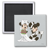 Mickey & Minnie Wedding | Getting Married Magnet